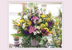 仏スタンド装花